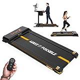 Dripex Laufband elektrisch leise, Treadmill 1-6 km/h einstellbar, 500W Motor mit Fernbedienung und...